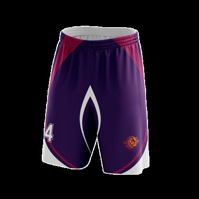Shorts basket tissu micro aéré sublimés