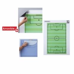 TABLEAU TACTIQUE MAGNÉTIQUE ET EFFAÇABLE- FOOTBALL