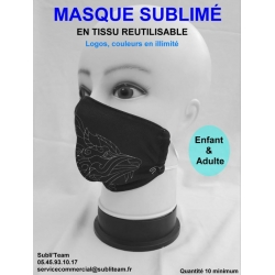 MASQUE SBULIME - MASQUE PERSONNALISE