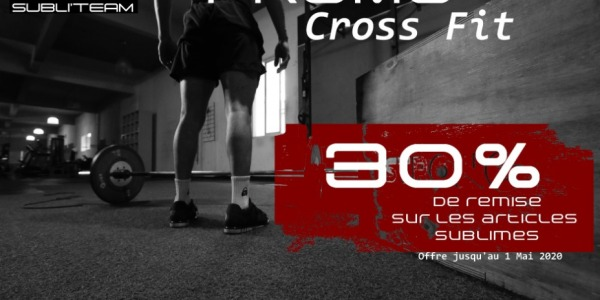 Club de cross fit, à vos smartphones !
